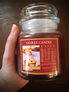 Yankee Candle giveaway for Erin Wright
