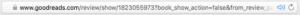 Goodreads URL