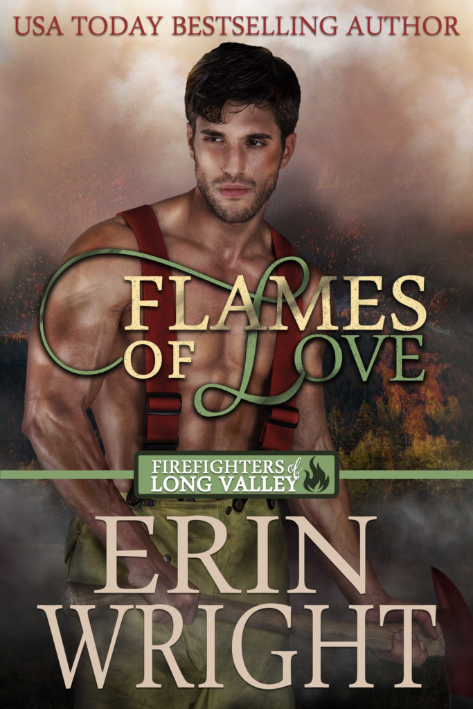 Flames of Love - A Western Romance Novel (Firefighters of Long Valley Book 1)