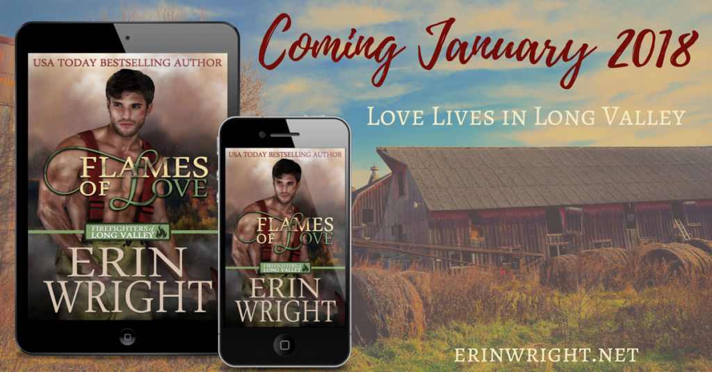 Flames of Love by Erin Wright – Coming January 2018