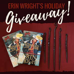 Christmas giveaway by Erin Wright romance author