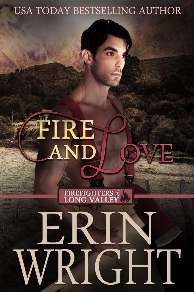 Fire and Love by Erin Wright cowboy romance